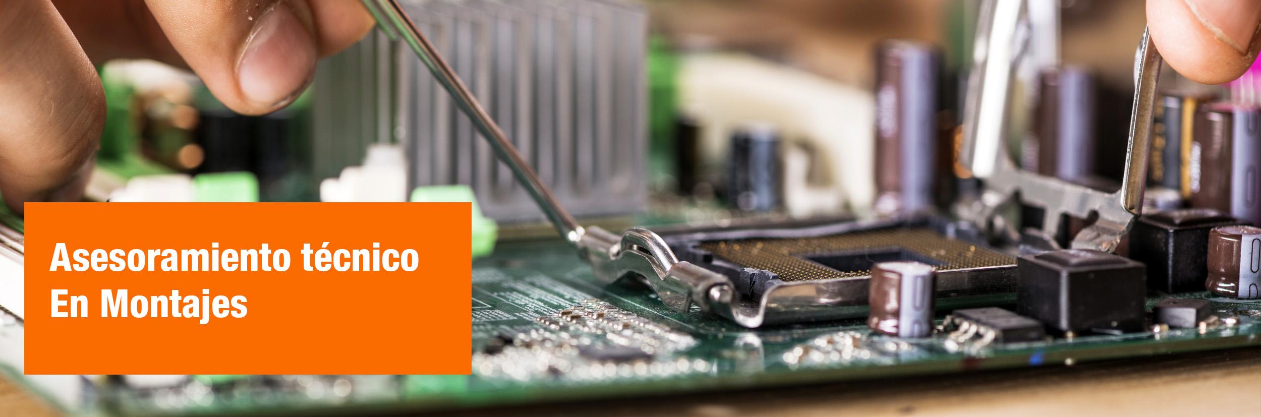 Asesoramiento montajes circuitos electronicos