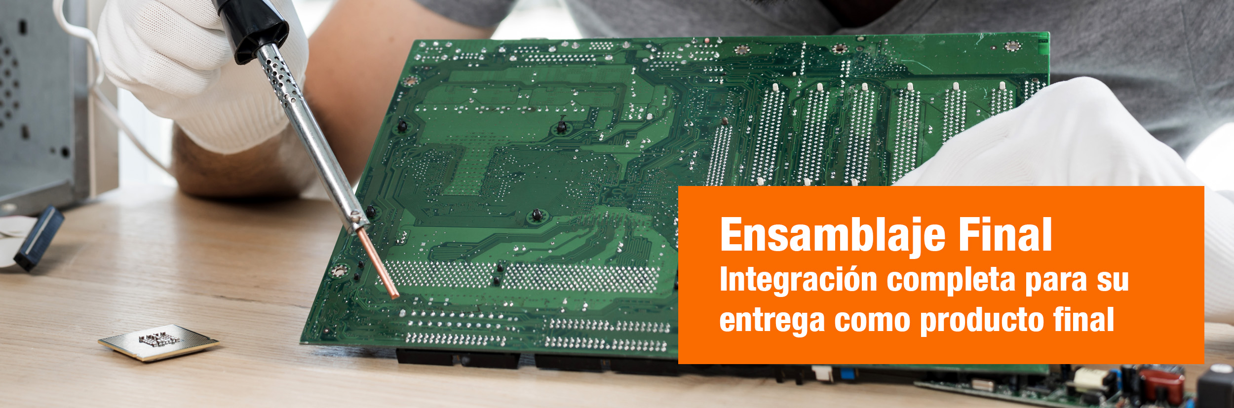 Ensamblaje circuitos electronicos